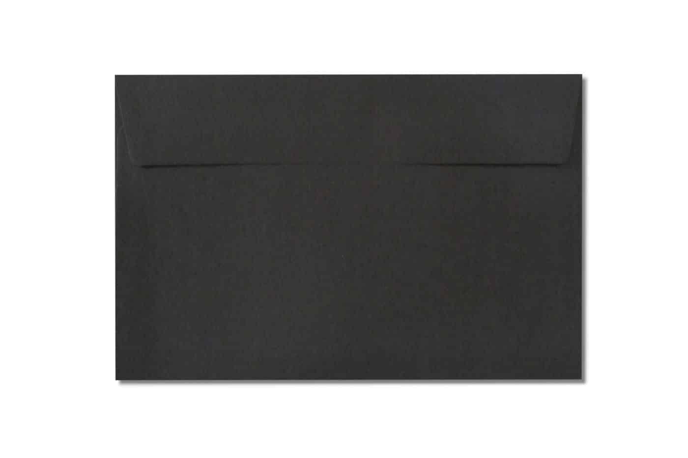 c6 c5 black envelopes 110gsm