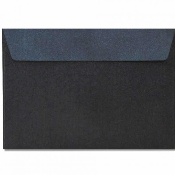 c6 metallic black envelopes