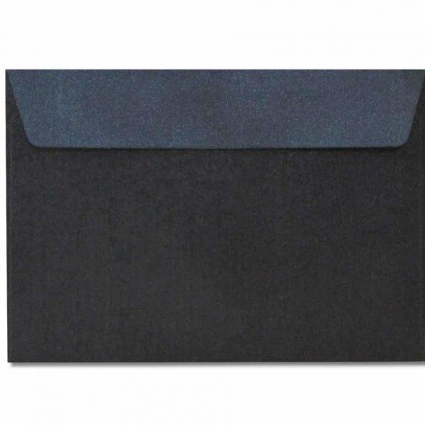 c6 metallic black envelopes