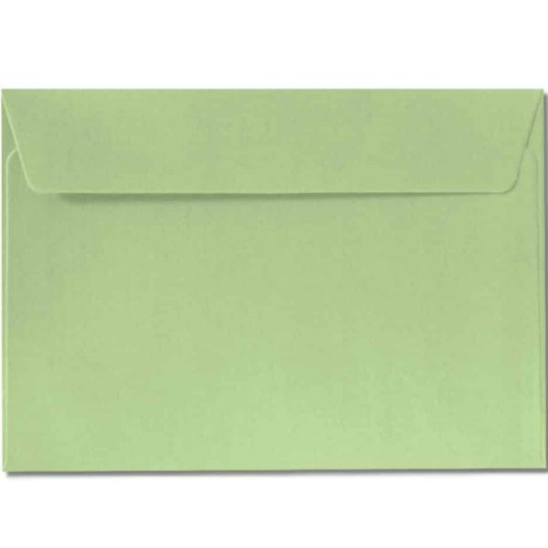 c6 metallic green envelopes