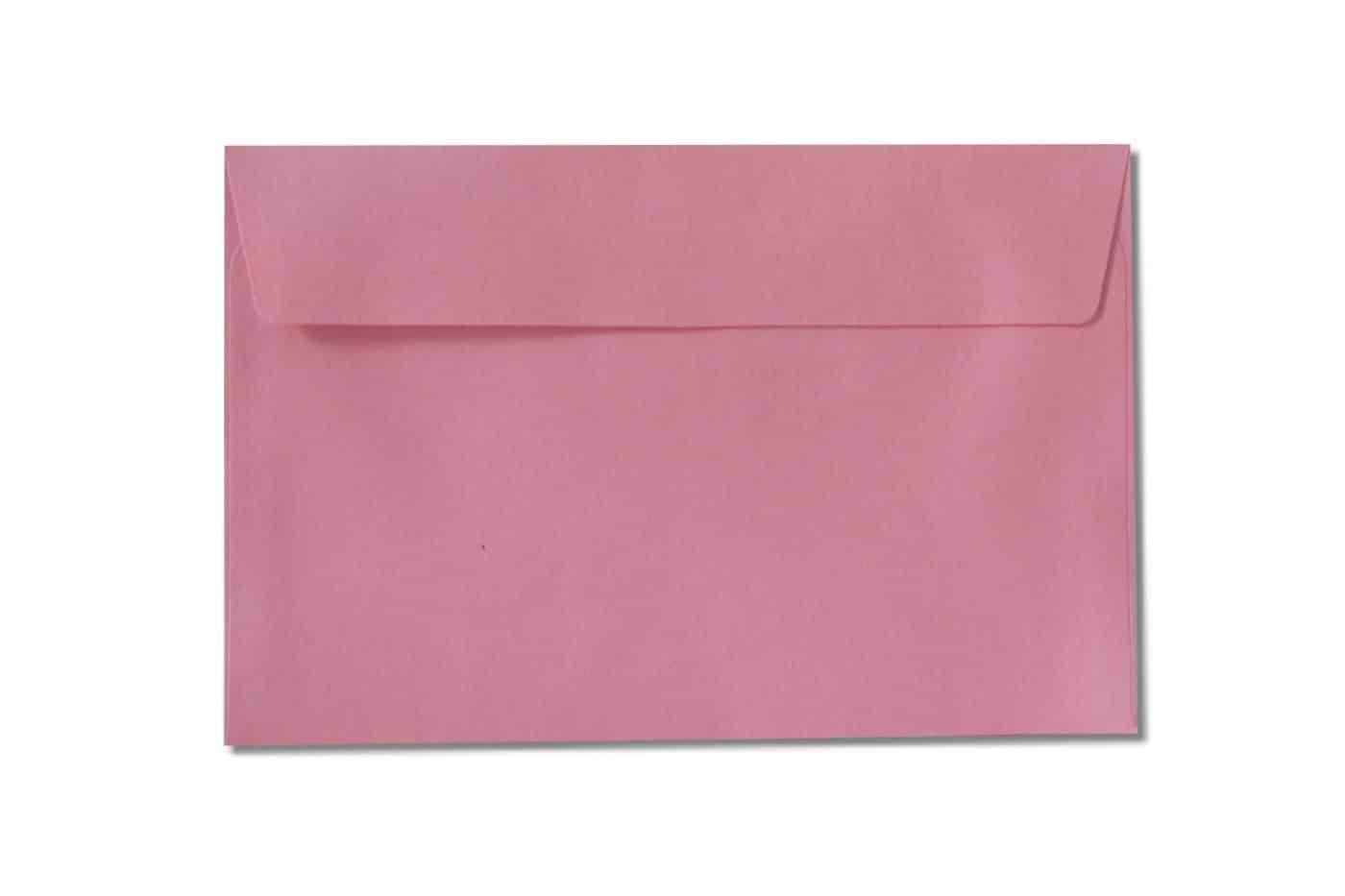c6 c5 pink envelopes 110gsm