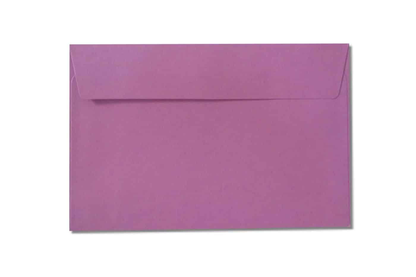 c6 c5 purple envelopes 110gsm