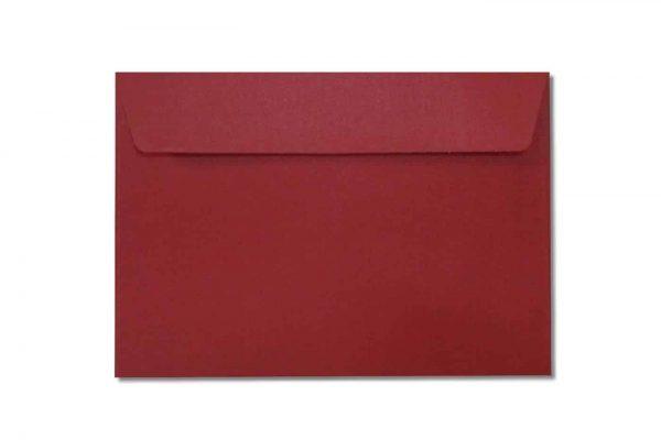 c6 metallic red envelopes