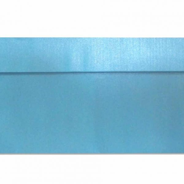 DL metallic envelopes blue