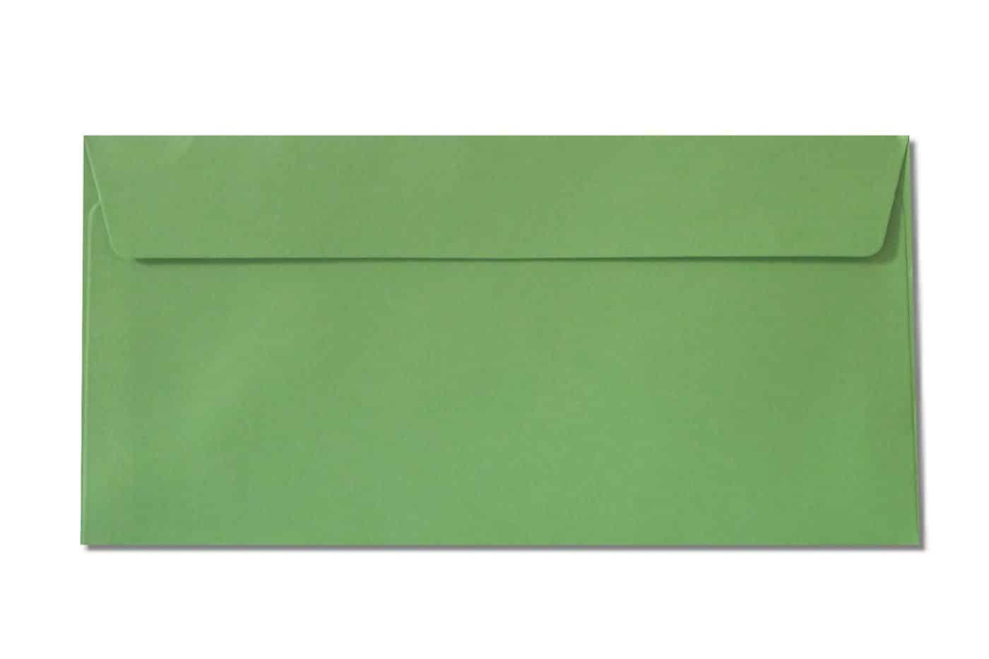 DL GREEN envelopes 120gsm