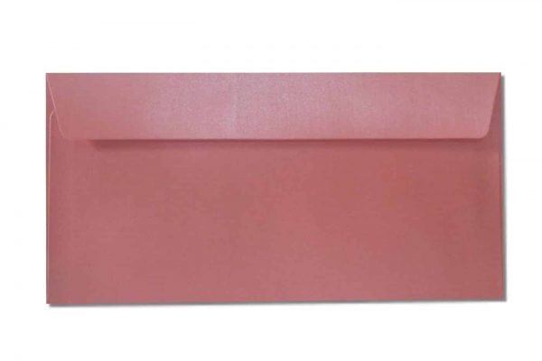 DL metallic envelopes pink