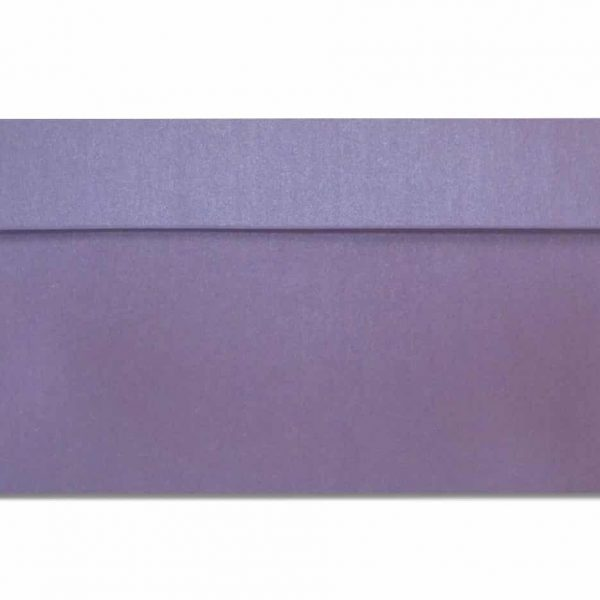 DL metallic envelopes purple