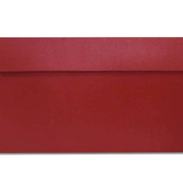 DL metallic envelopes red