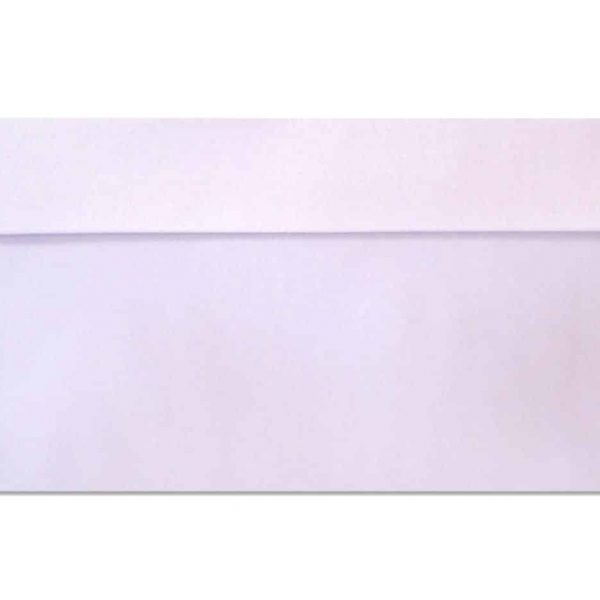 DL metallic envelopes white