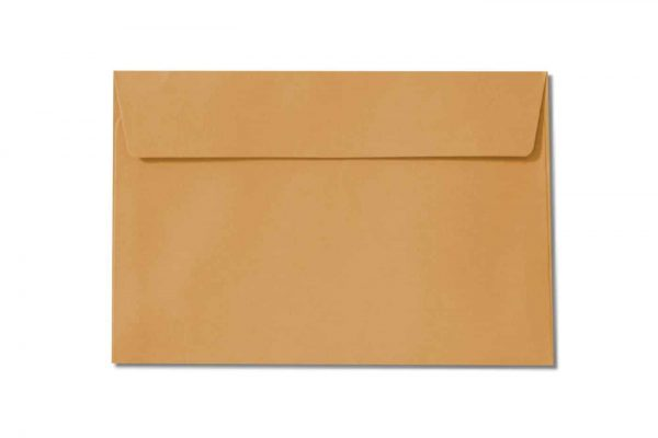 c6 orange envelopes 110gsm