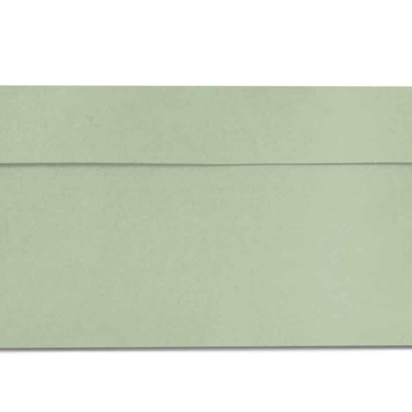 DL pale green envelopes 110gsm