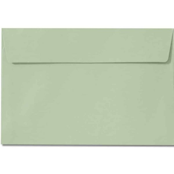 c6 pale green envelopes 110gsm