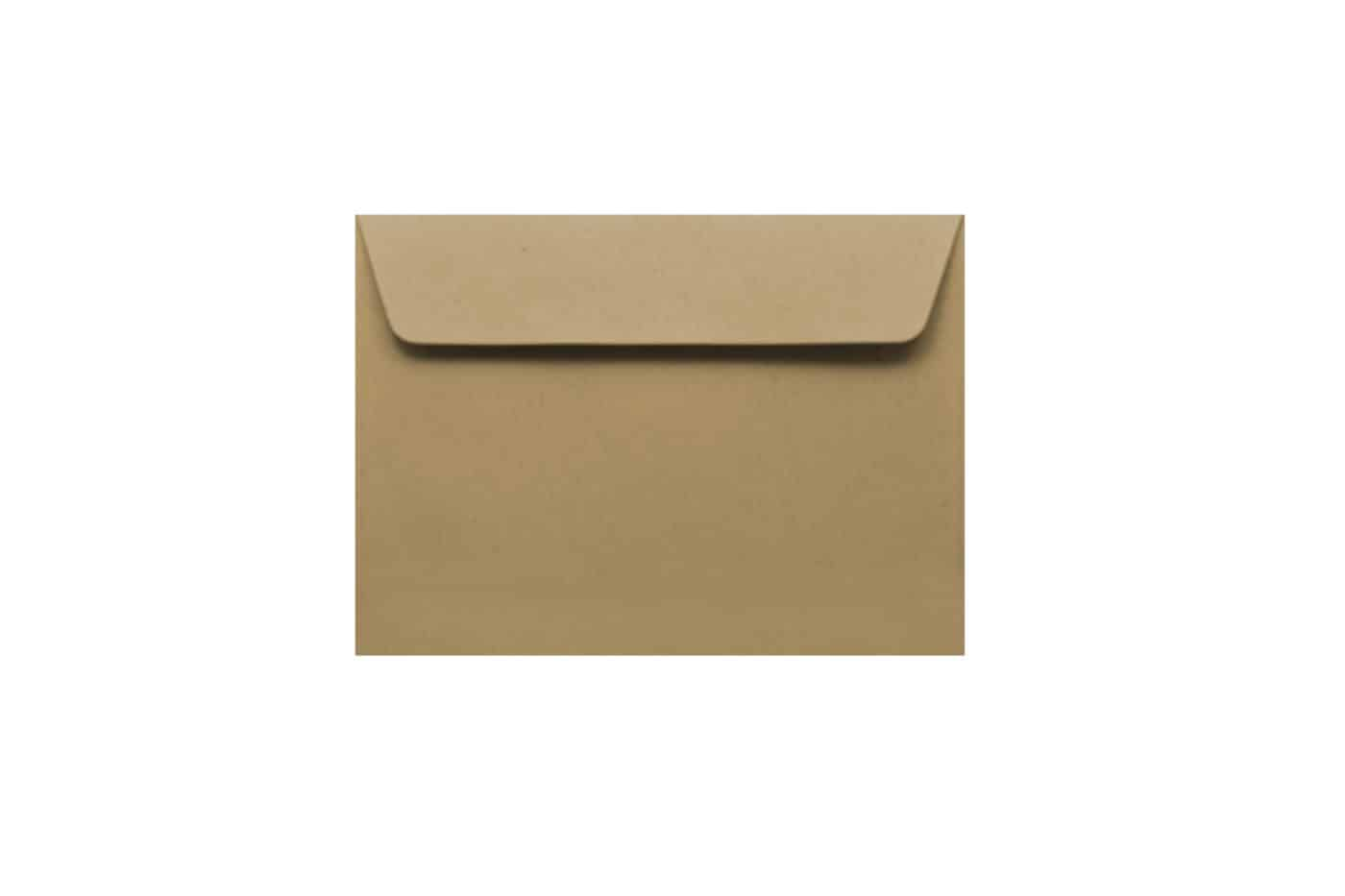 11cm x 8.5cm Kraft paper envelopes