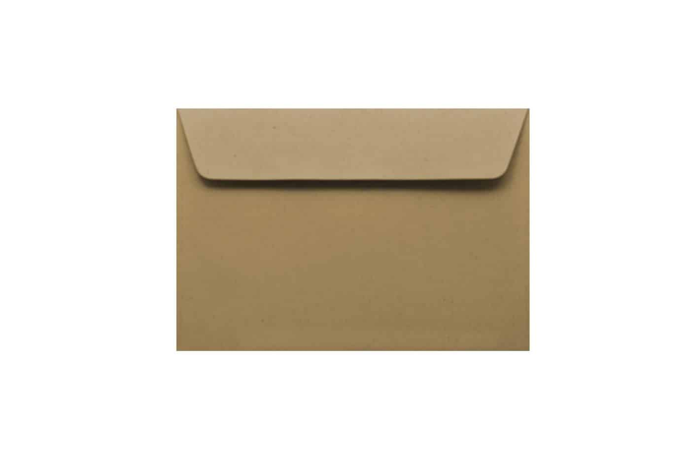 C6 Kraft paper envelopes