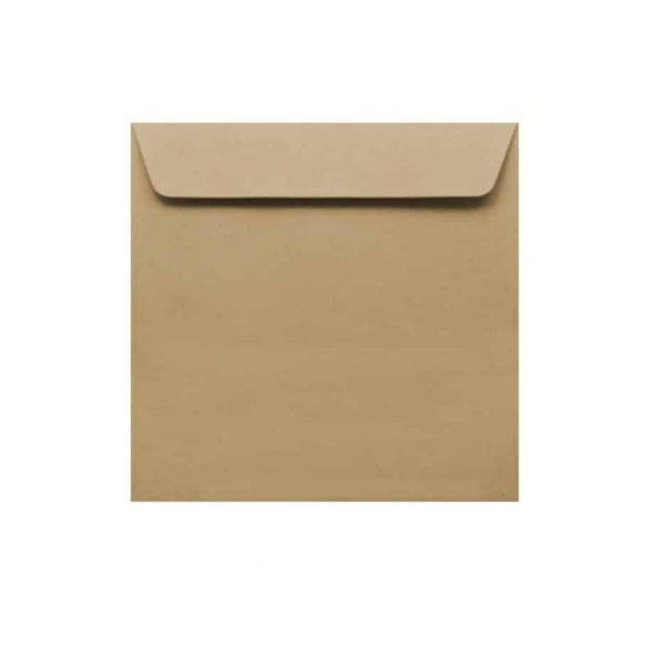 150mm x 150mm Kraft envelopes