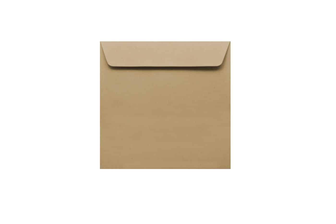 150mm x 150mm Kraft envelopes